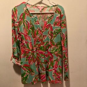 Lily Pulitzer top, size S